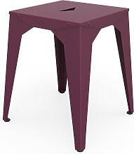 Tabouret bas Cuatro - Violet - Prune