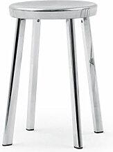 Tabouret bas DEJA-VU de Magis, Aluminium poli