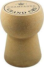 Tabouret bas design bouchon de champagne - Karl