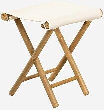 Tabouret bas en bambou Woody SKLUM Bambou Bambou -