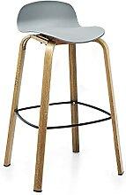 Tabouret Chaise de taboure à Bar avec Dossier Bas