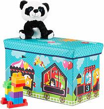 Tabouret cirque Coffre à jouets boîte couvercle