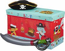Tabouret Coffre à jouets boîte à jouets