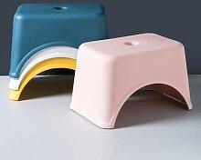 Tabouret de bain antidérapant en plastique épais