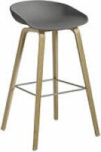 Tabouret de bar About a stool AAS 32 / H 75 cm -