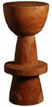 Tabouret de bar Ball / Bois - H 74 cm - Pols