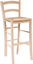 Tabouret de bar en bois pour table à manger