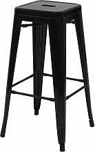 Tabouret de bar HHG-844, chaise de comptoir,
