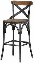 Tabouret de Bar Industriel Chaise Bar Style