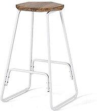 Tabouret de bar Loft en bois - Chaise de bar en