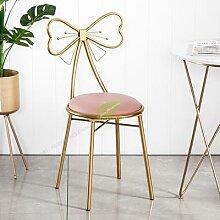 Tabouret de Bar moderne en fer, chaise de Bar,