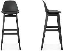 Tabouret de bar noir design - Guliver