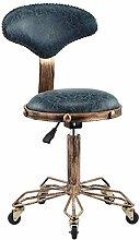 Tabouret de Bar/Salon de Style Industriel Vintage,