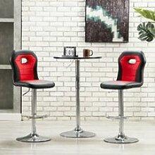 Tabouret de bar Style Moderne Chaise de bar -