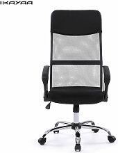 Tabouret de chaise de bureau reglable en maille