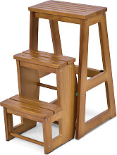 Tabouret de chaise pliante Échelle de 3 niveaux
