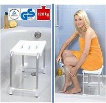 Tabouret de douche avec pieds antidérapants - h.
