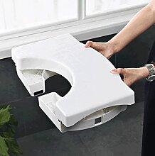 Tabouret De Toilette Pliant Multifonction Salle De