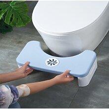 Tabouret de toilette pliant, tabouret de salle de