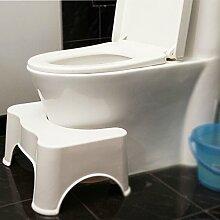 Tabouret de Toilettes marchepied de Salle de Bain,