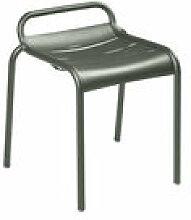 Tabouret empilable Luxembourg / Aluminium - Fermob