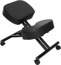 Tabouret ergonomique chaise à genoux hombuy en