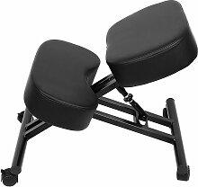 Tabouret ergonomique siège ajustable repose