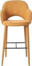Tabouret / fauteuil de bar COSY FABRIC de Pols