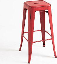 Tabouret Mel Vintage - Rouge vintage