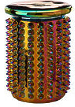 Tabouret Oily Spikes / Céramique iridescente -