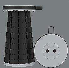 Tabouret Pliant Arc-en-Ciel Portable en Plein Air