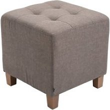 Tabouret pouf pharao , taupe