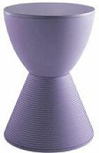Tabouret Prince AHA / Plastique - Kartell bleu en