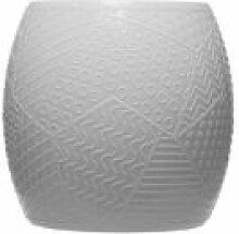 Tabouret Roy / H 43 cm - Plastique avec décor en