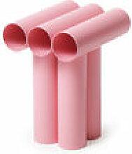 Tabouret Septem / Tubes aluminium - Axel Chay rose