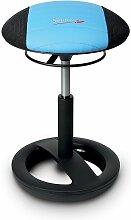 Tabouret Sitness RS Bob, noir/bleu - Topstar