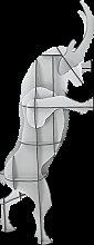 Tabouret SULTAN de Ibride, Blanc