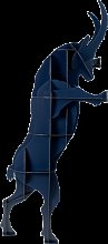 Tabouret SULTAN de Ibride, Bleu