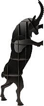 Tabouret SULTAN de Ibride, Noir