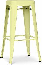 Tabouret Tolix 76cm Pauchard Style - Métal Mat