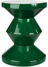 Tabouret Zig Zag / Plastique - Pols Potten vert en
