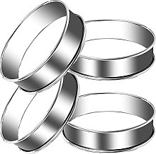 Tadpolez Cercles à Gâteau Ronds, 4 Pièces Moule