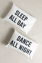 Taie d'oreiller (50X70 cm) Sleep & Dance Sleep