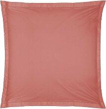 Taie d'oreiller en coton, rose blush 63x63 cm