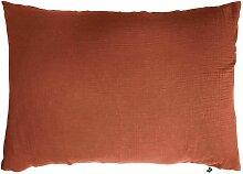 Taie d'oreiller Rouge 50x70 131249 - Home
