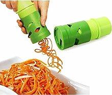 Tailcas Tendance Multifonction Spirale Légumes