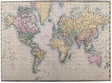 Taille Moyenne Puzzles 500 Pièces,Carte du monde