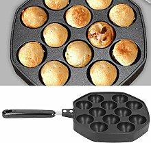 Takoyaki Pan Takoyaki Maker 12 cavités pour oeufs