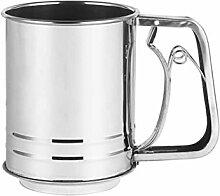 Tamis à farine de tasse mécanique Evazory