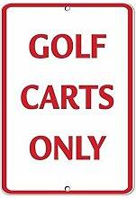 TammieLove Golf Carts Only Panneau d'activité